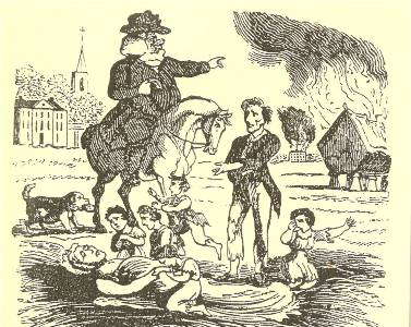 causes of the swing riots Labor-saving technology and unrest in england, 1830-32 the so-called ‗captain swing' riots in many causes have been cited.